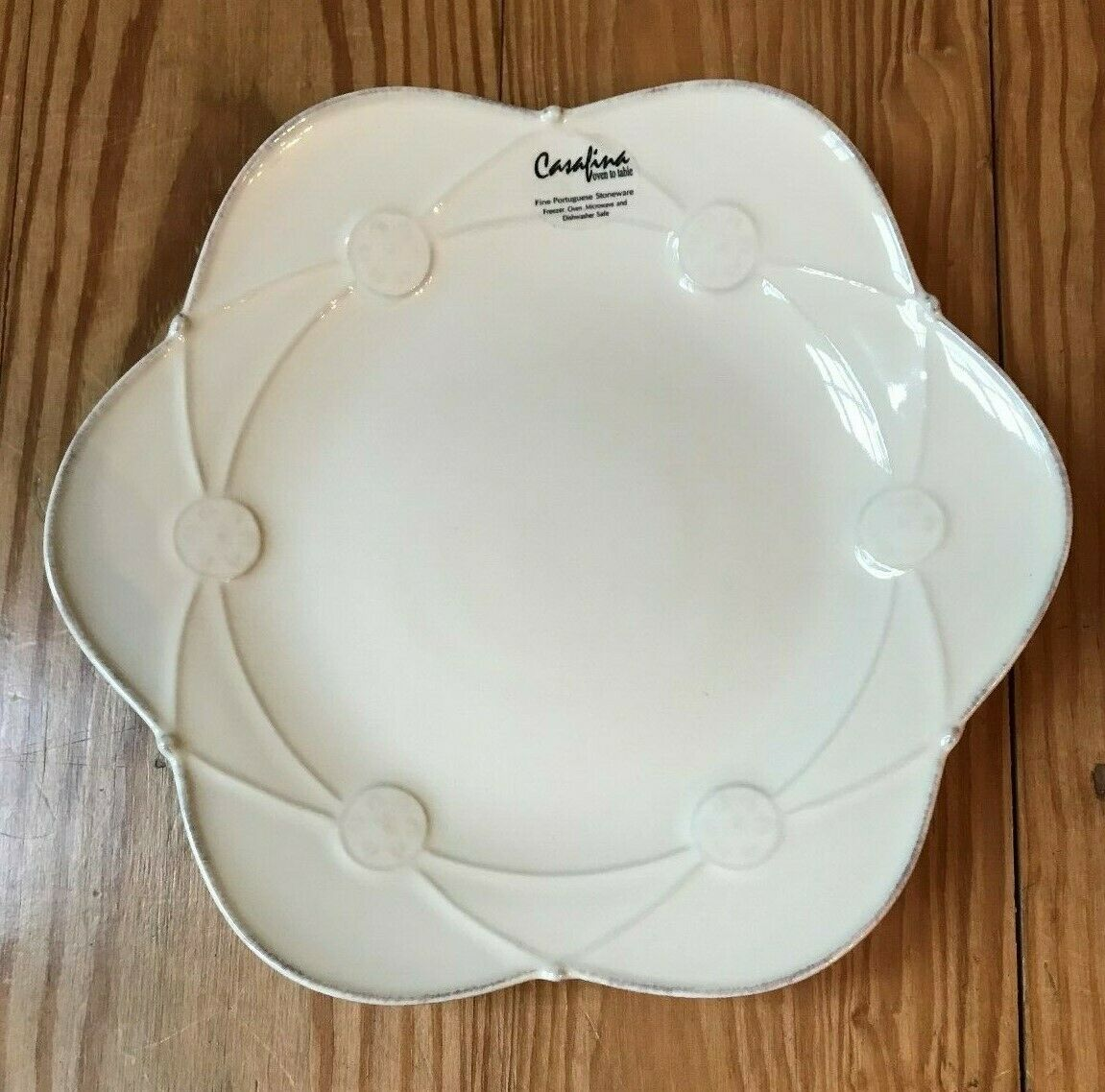 Casa Stone By Casafina new casafina casa stone meridian salad plate cream