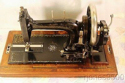 *BERNHARD STOEWER*HAND CRANK SEWING MACHINE*CIRCA 1900*   eBay
