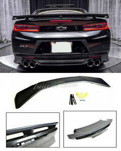 For-16-Up-Chevrolet-Camaro-ZL1-Factory-Style-ABS-Plastic-Spoiler-Rear-Trunk-Lid