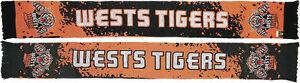 NRL Wests Tigers Splash Design Jacquard Supporter Scarf