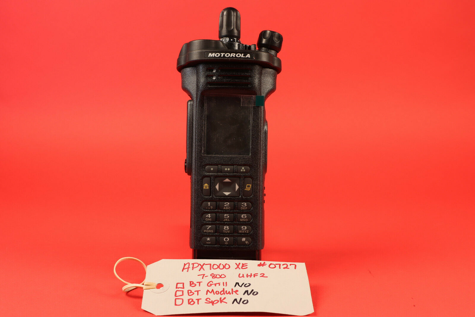 Motorola APX7000XE  UHF R2 450-520MHz & 700/800MHz + FPP+ 5 Algo's *No tag. Available Now for 2450.00