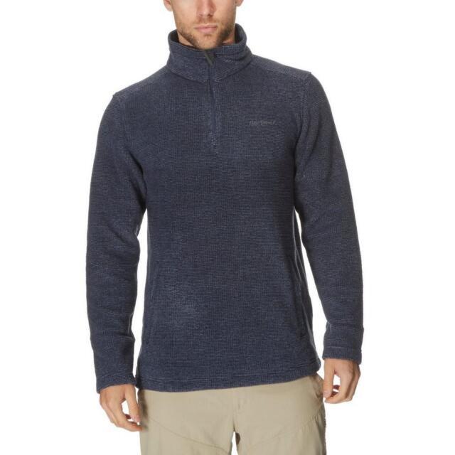 6d54d6ac0f Peter Storm Mens Keswick Half Zip Fleece Outdoor Clothing Navy XXL ...