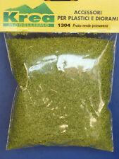 Prato turf verde primavera per plastico o diorama - Krea Modellismo 1304