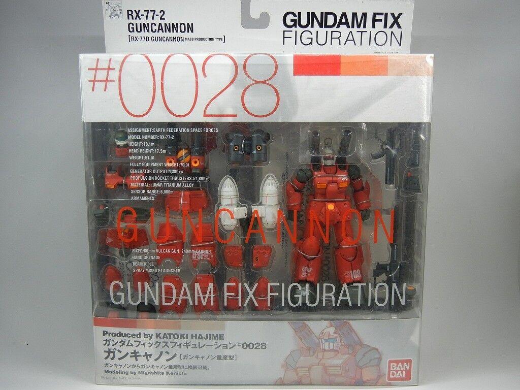 Gundam FIX Figuration  0028 RX-77-2 GUNCANNON / RX-77D GUNCANNON Figure BANDAI