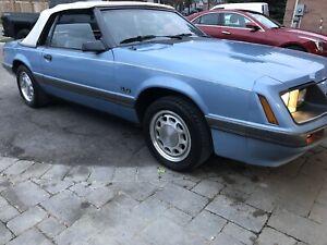 1985 Mustang LX (clone5.0L)
