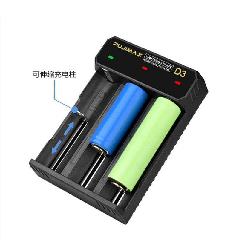 Battery charger rohs ce certified 18650 for battery rechargeable lithium