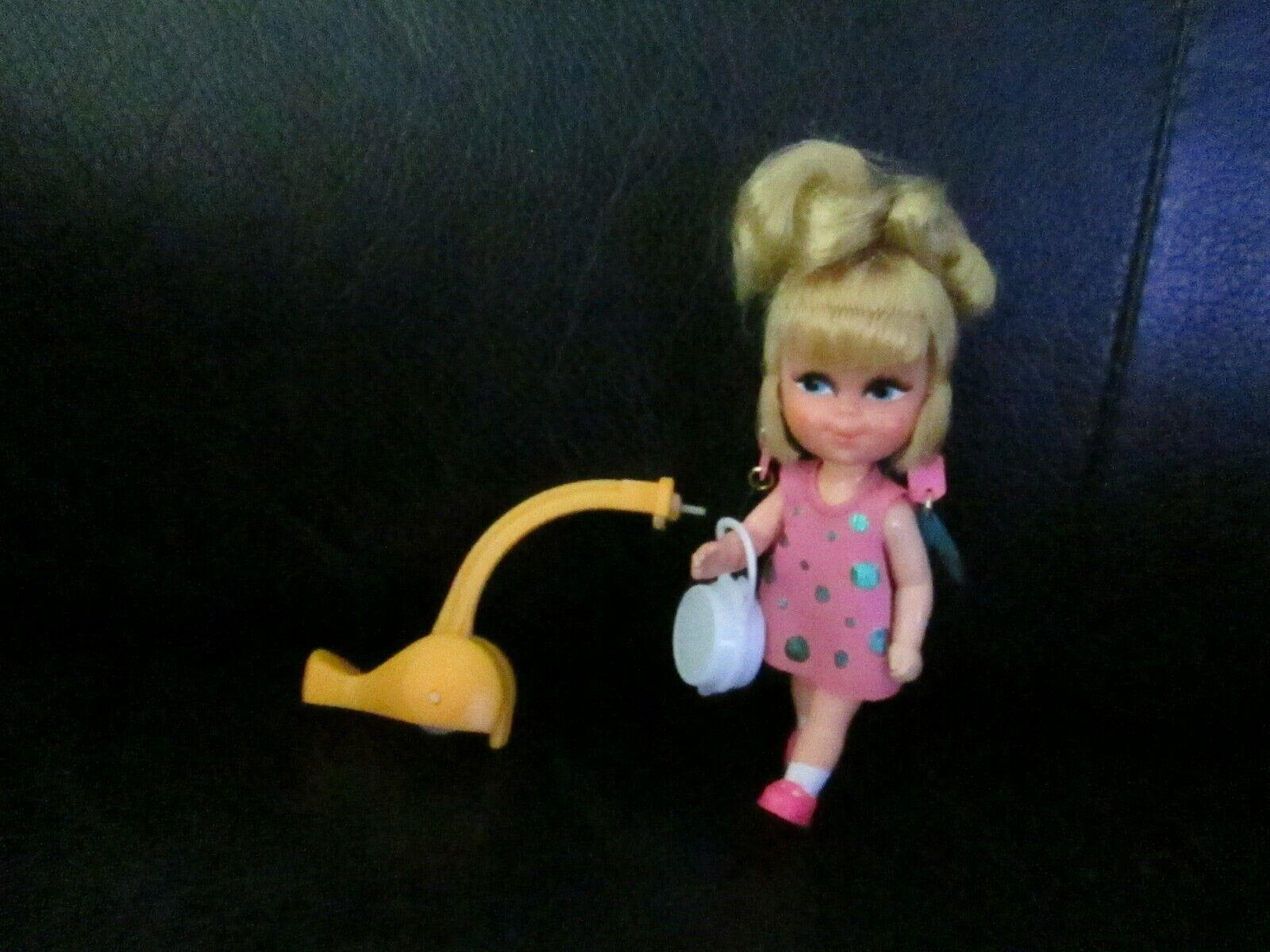 Liddle Kiddles Swingy Little Doll Walking Vintage Skediddle Original Earrings