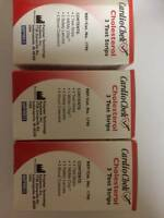 Cardiochek Cholesterol Test Strips 3 Ea (pack Of 3 Boxes) Expiration: 04/2017