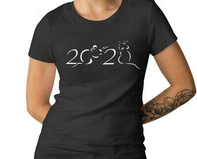 Womens Tank Top 2020 Year Of The Rat T Shirt Chinese Zodiac Tee Shirt Lunar Year