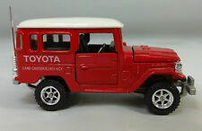 Toyota landcruiser 1/43 raramente! tomica dandy. embalaje original (se ha aún angefunden)