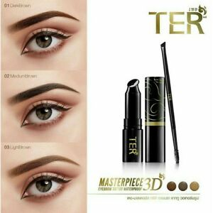 TER Masterpiece 3D Eyebrow Tattoo Kit Waterproof Free Brush New ...