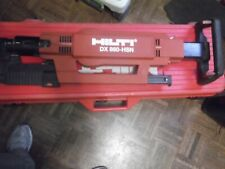 Hilti Dx 860 Hsn Stand Up Metal Roofing Gun Nailer Powder Actuated