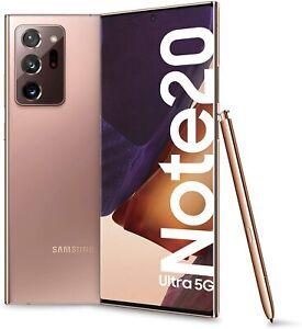Samsung Galaxy Note20 Ultra 5G 6.9 Dynamic Amoled 12/256GB Mystic BRONZO GRADO A