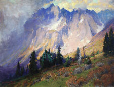 Gathering Storm near the...  by Charles P Adams   Giclee Canvas Print Repro