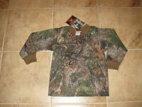 Toddler Boys Size 2/3 Long Sleeve Camouflage Shirt Made In Usa
