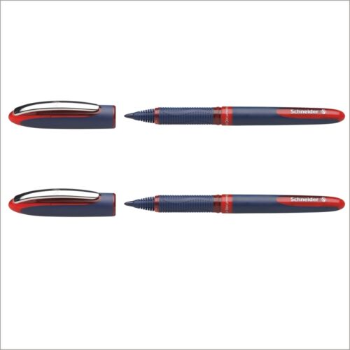 Tintenroller Schneider One Business 0.6mm zwei Stifte rot