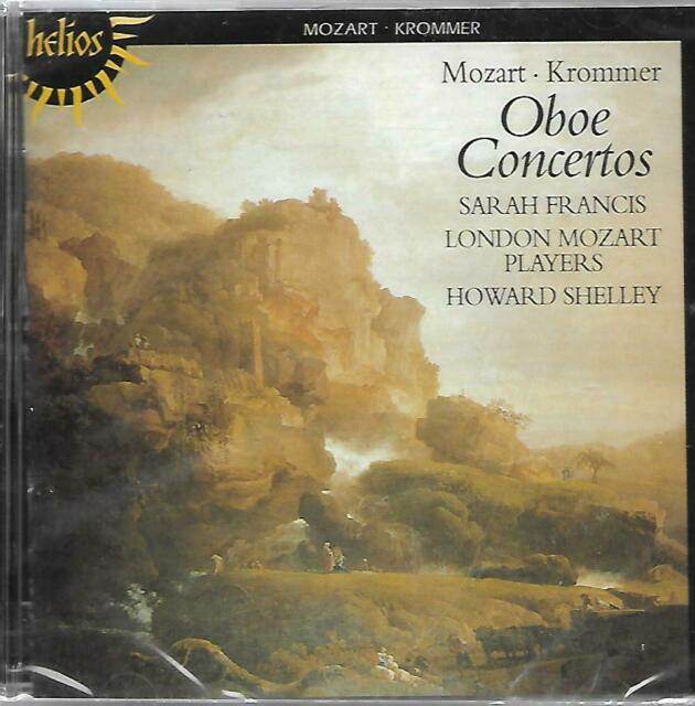 SARAH FRANCIS LONDON MOZART PLAYERS HOWARD SHELLEY Mozart Krommer Oboe Concertos