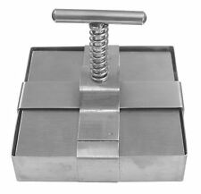 """Tile Cutter 4"""" x 4"""" 102mm Square Stainless Steel Clay Ceramic Pottery Tool 7840"""