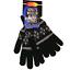 Woolen Blend Gloves One Size Magic Winter Warm Knit Men Ladies Unisex New #7593