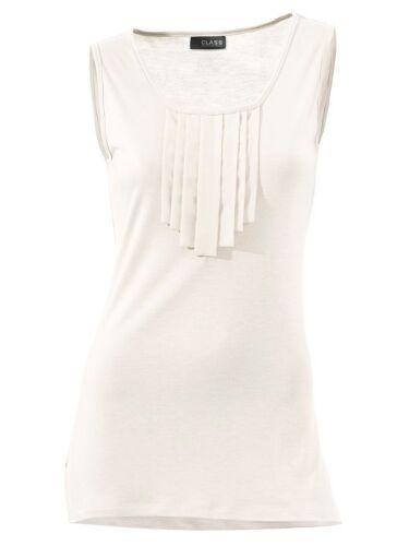 Neuf!! Kp 39,90 € SOLDES/%/% Volants-shirt Offwhite Class International by Heine