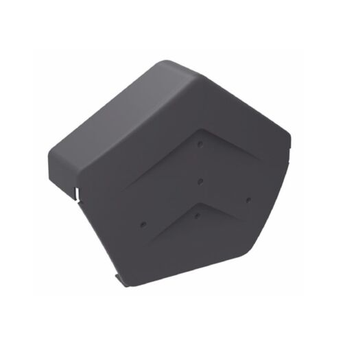 Universally Handed Fast Fit System for Gable Apex Roof Tiles Grey Dry Verge