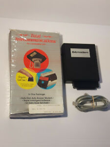 Commodore-64-300-bauds-modem-with-box-untested-C64