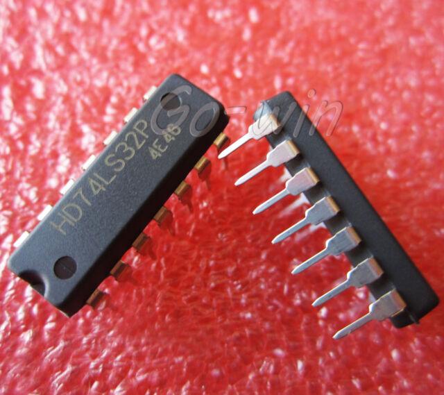 10PCS HD74LS32P DIP HITACHI Quad 2-input OR Gate NEW