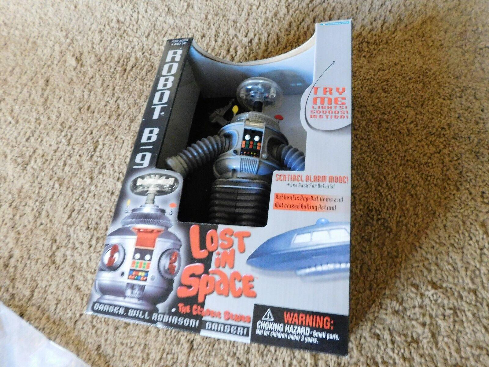Förlorad i Space Robot B9 Classic Series ljuss Ljud Rörelse MIB
