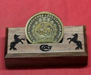 Colt Firearms Medallion Display Stand