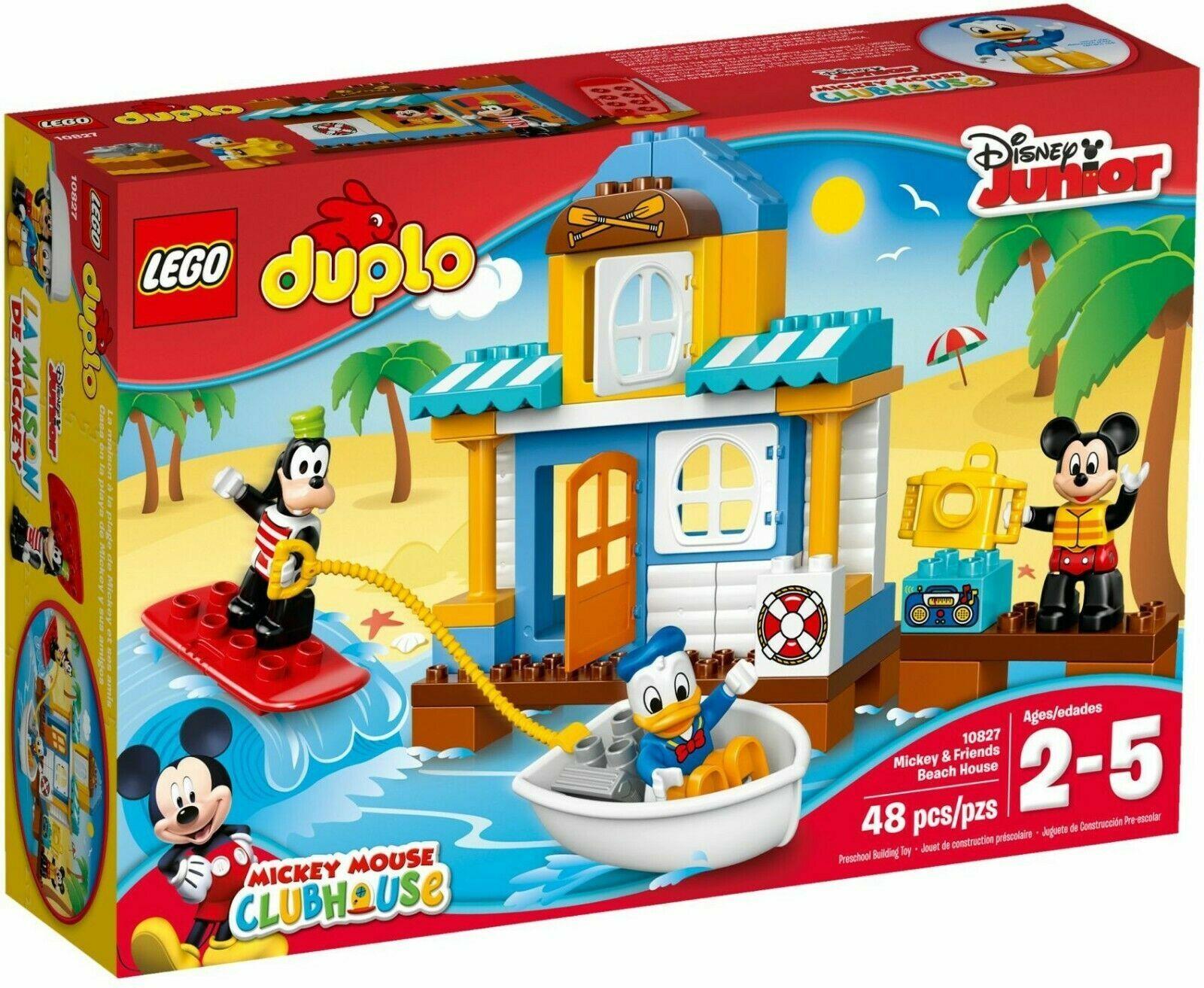 Lego Duplo Mickey Mouse Clubhouse Mickey & Friends 10827 Casa De Jugara Nuevo Sellado