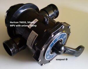 Hurlcon-Astral-Pool-Filter-MPV-Multi-Port-Valve-complete-50MM-NB-GENUINE-76033