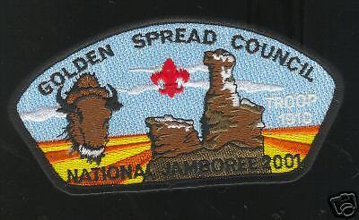 MINT 2001 JSP Golden Spread Council