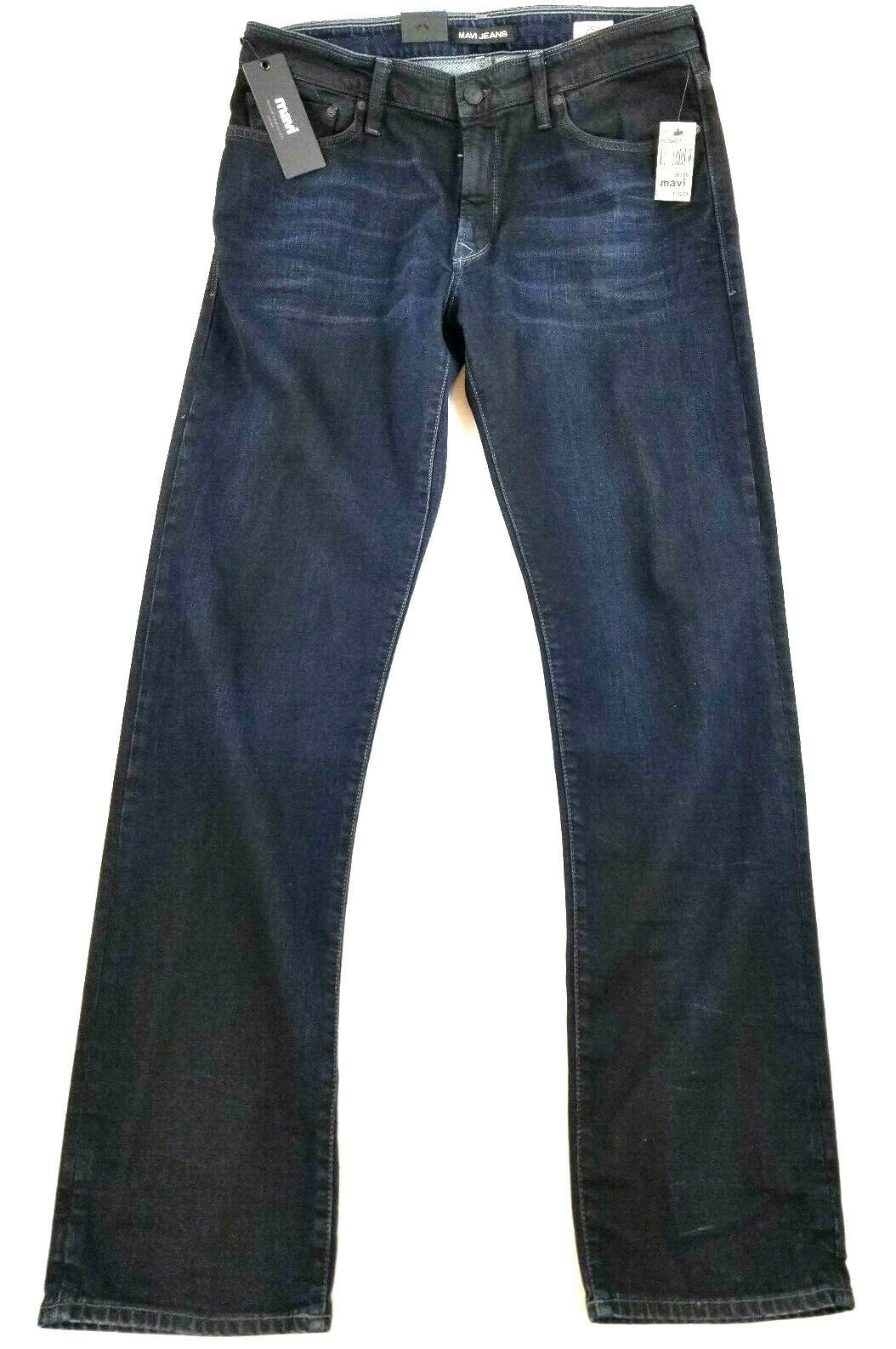 New MAVI jeans men jeans pants Zach straight leg W36 L36 bluee navy MSRP