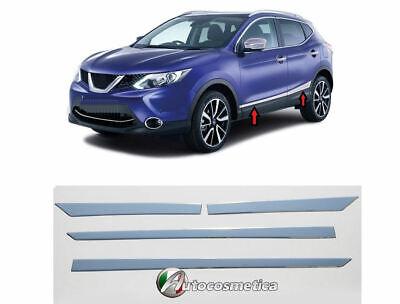 Nissan Qashqai 2014/>. set in acciaio battivaligia+paraurto+cornici portabagagli