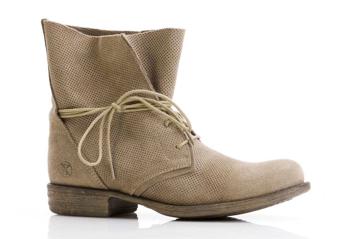 POST XCHANGE JESSY Mujer Cuero Natural Zapatos Stiefelette