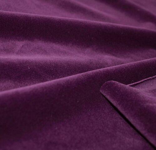 Mf51t Violet Plain Thick Microfiber Velvet 3D Box Seat Cushion Cover Custom size
