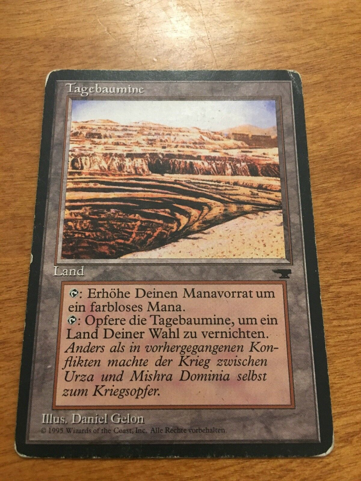 MTG 1x Foreign STRIP MINE w  Horizon Magic The The The Gathering Antiquities Expansion 844c0e