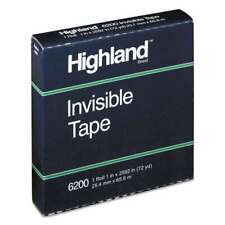 Highland Invisible Permanent Mending Tape 1 X 2592 3 Core 021200074479