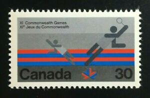 Canada-758-MNH-1978-Commonwealth-Games-Badminton-Stamp-1978