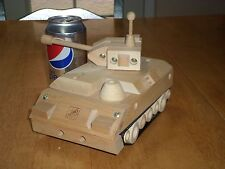 USA Tank Destroyer, Wood Crafted Toy, Scale: 1/24, HOME DEPOT Hand Built Toy