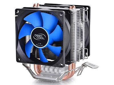 Dual Fan CPU Quiet Cooler Heatsink for Intel LGA1150 LGA1151 1155 775 1156 AMD