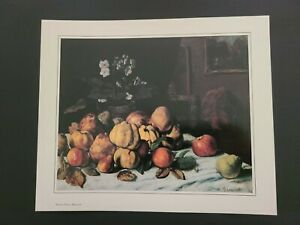 "Gustave Courbet Norton Simon Museum Art Print - Still Life: Apples..."" Un-Framed"