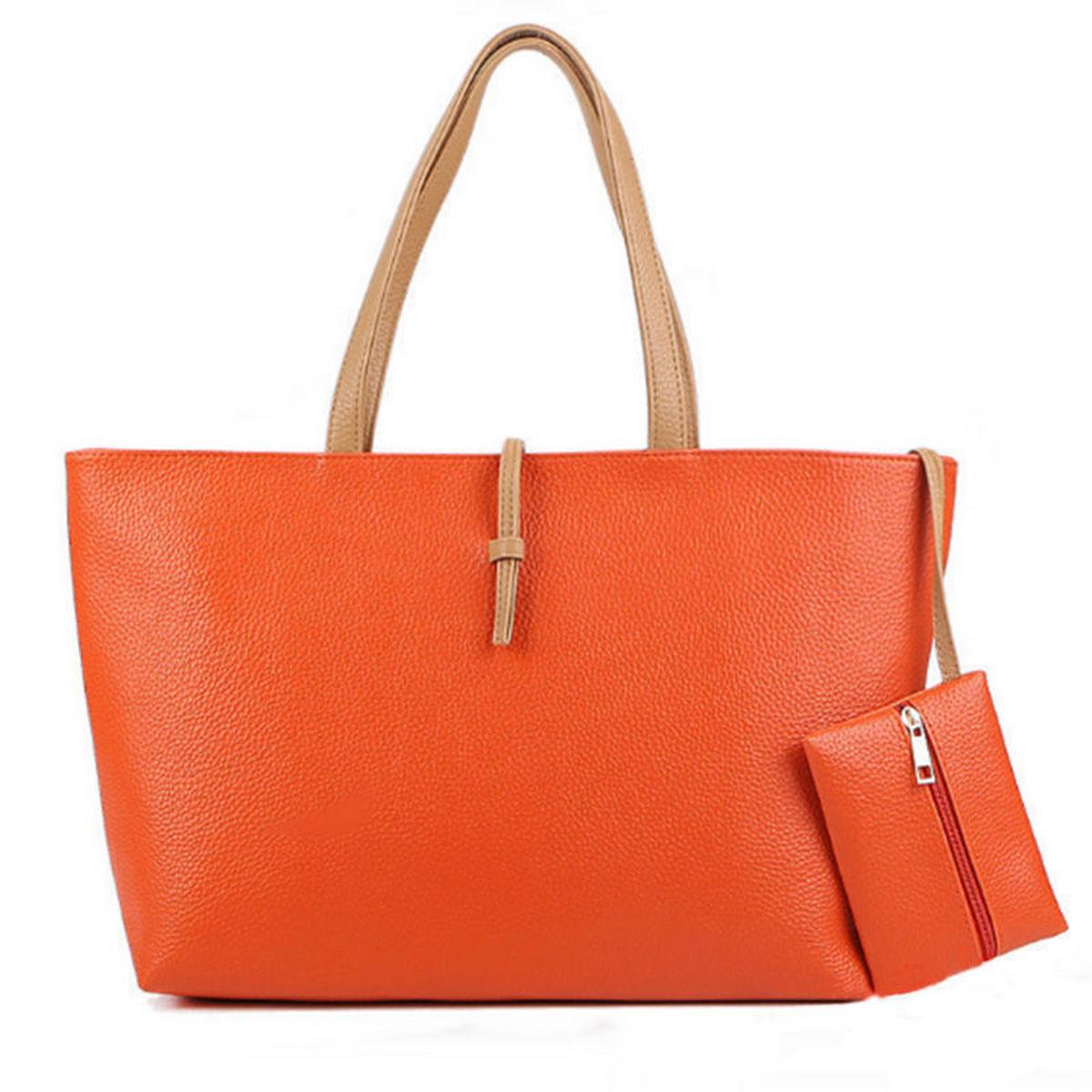 Vincenza Designer-Large-Womens-Leather-amp-Suede-Style-Tote-Shoulder Bag Handbag