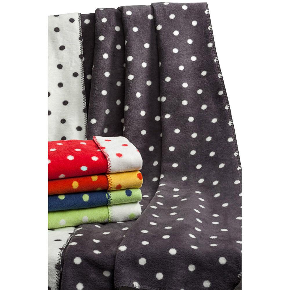 Juge Textiles Couverture points 150 x 200 cm coton biologique