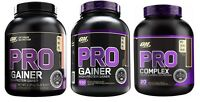 Optimum Nutrition Pro Complex Whey Protein Carbohydrate Powder Muscle Builder