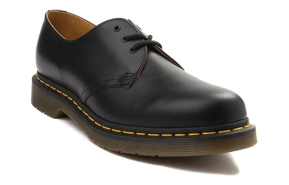 Dr. Martens 1461 Size US Men's 14 Black Leather IN HAND SHIPS IMMEDIATELY
