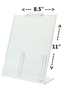 Lot Of Slatwall X Table Tent Ad Frame With TriFold - Tri fold table tent