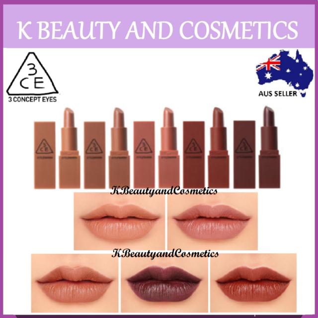 [3CE] Mood Recipe Lip Color Mini Kit 1 3g x 5 pieces MATTE Lipstick LIMITED  ED