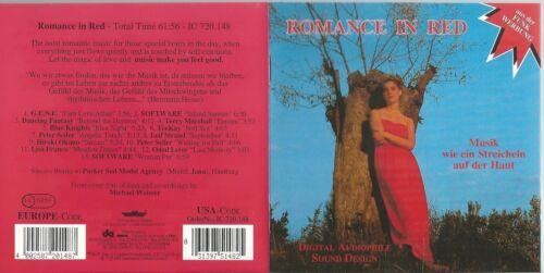 1 von 1 - ROMANCE IN RED CD: GENE/SOFTWARE/TEEKAY/PETER SEILER/LISA FRANCO/ODED LETER