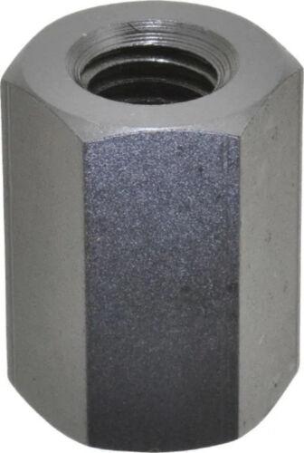 """Gibraltar 3//8-16 UNC 1/"""" OAL Steel Standard Coupling Nut 41503 Pack of 6"""